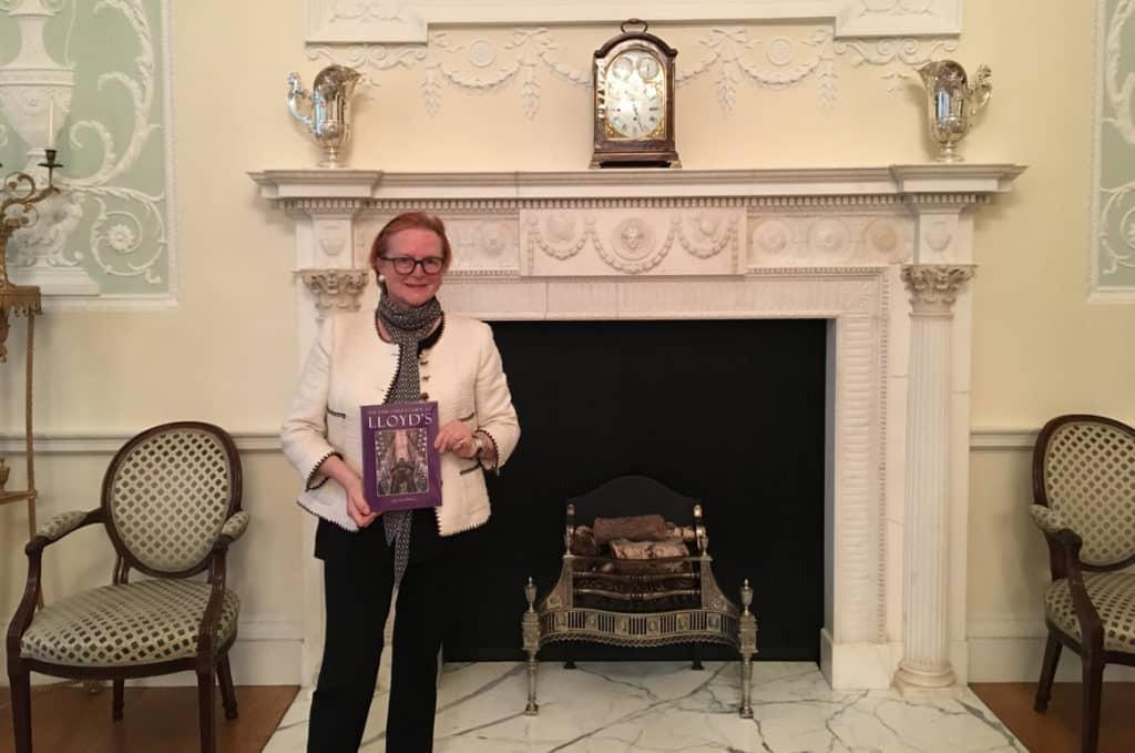 Barbara Schurer, Underwriting Member of Lloyd's of London