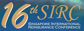 16th Singapore International Reinsurance Conference (SIRC)