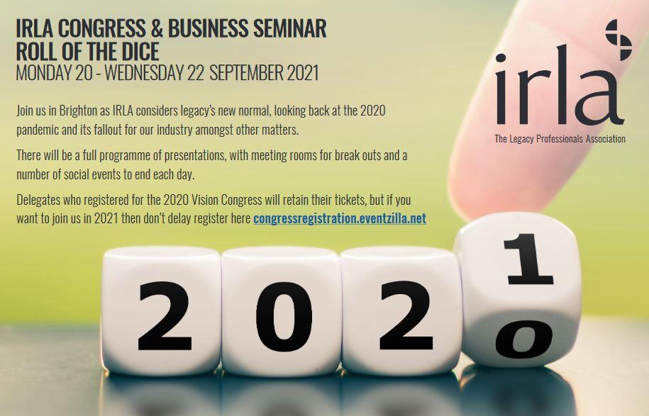 IRLA Congress & Business Seminar 2021