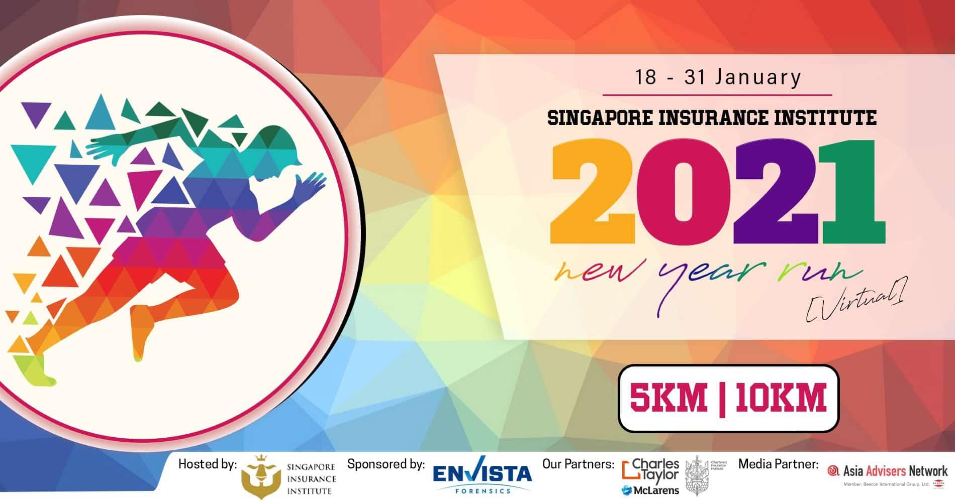 Singapore Insurance Institute Virtual Run 2021