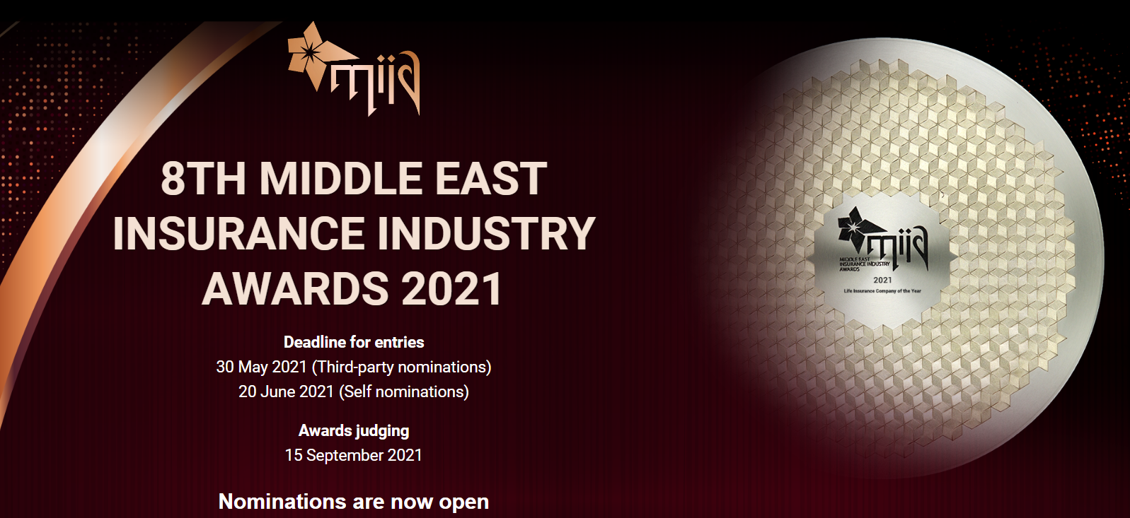 8th Middle East Insurance Industry Awards 2021