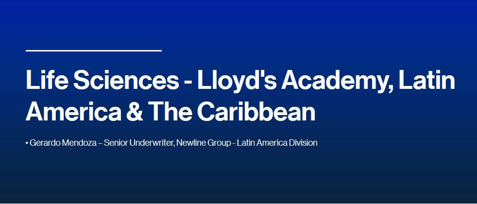 Life Sciences - Lloyd's Academy, Latin America & The Caribbean