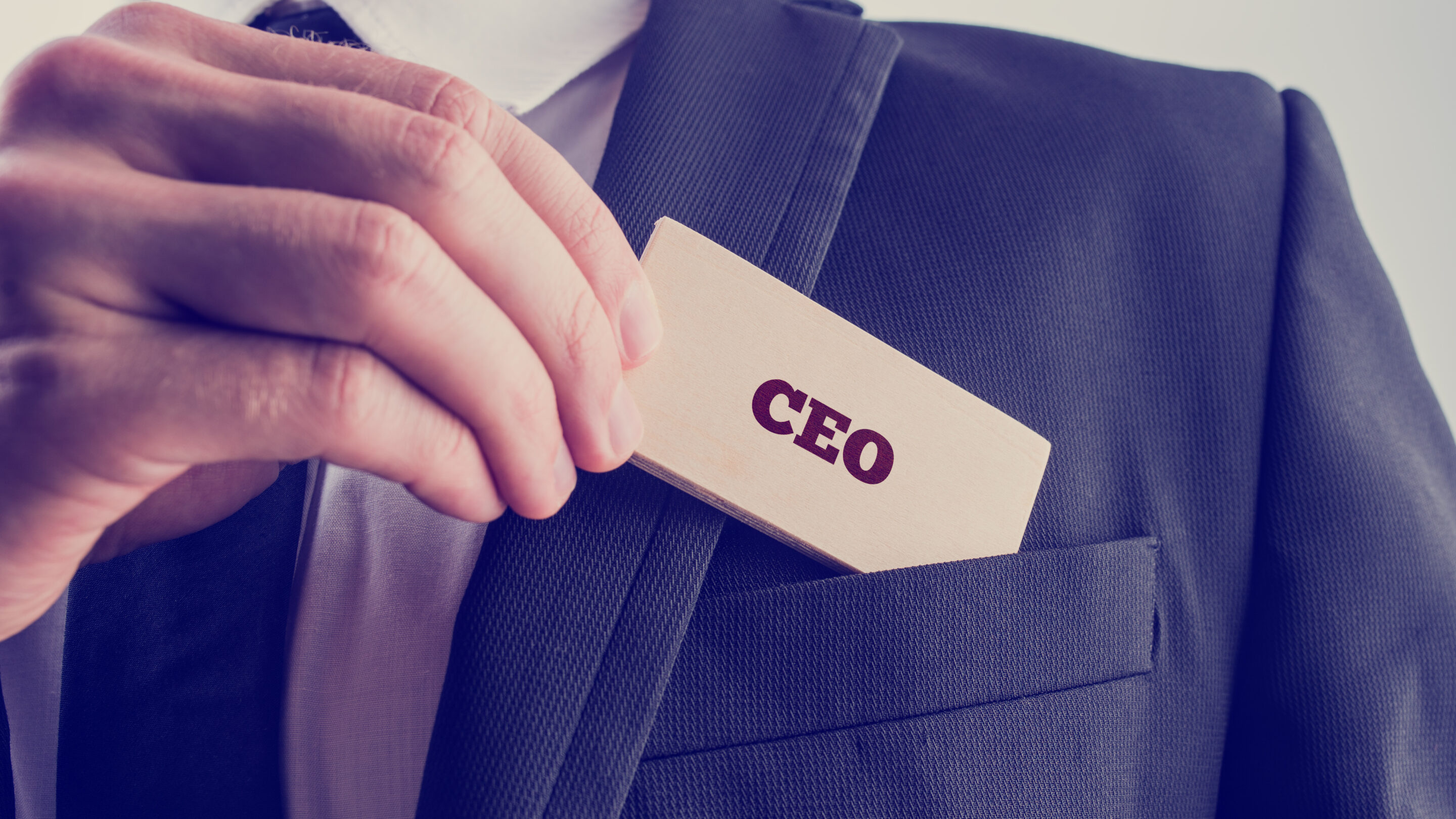So you want to be a CEO?