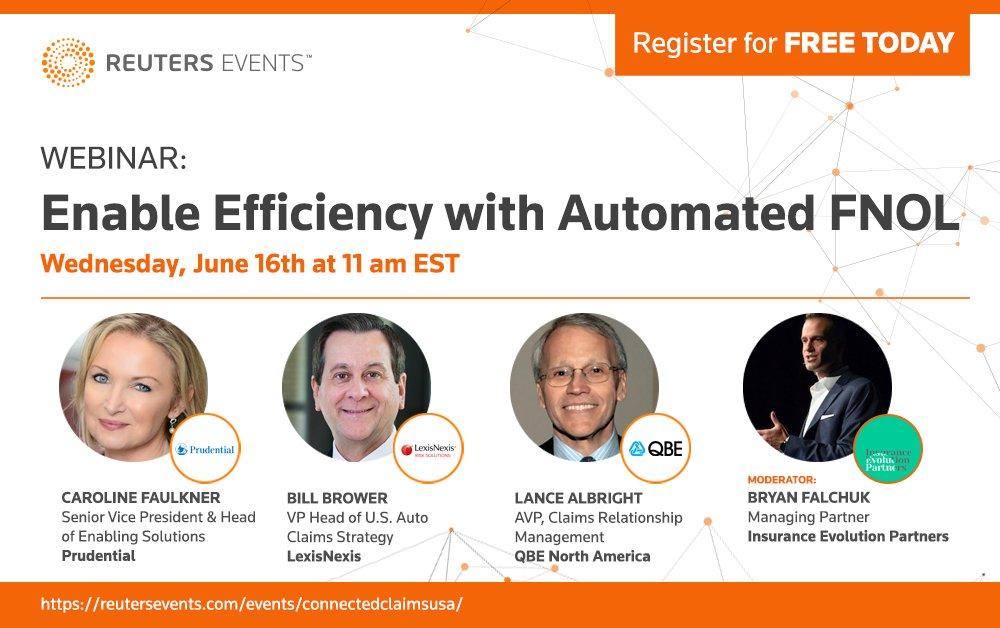 Webinar: Enable Efficiency with Automated FNOL