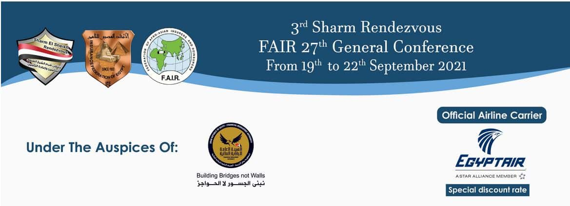 3rd Annual Sharm El Sheikh Insurance & Reinsurance Rendezvous and FAIR 27th Conference