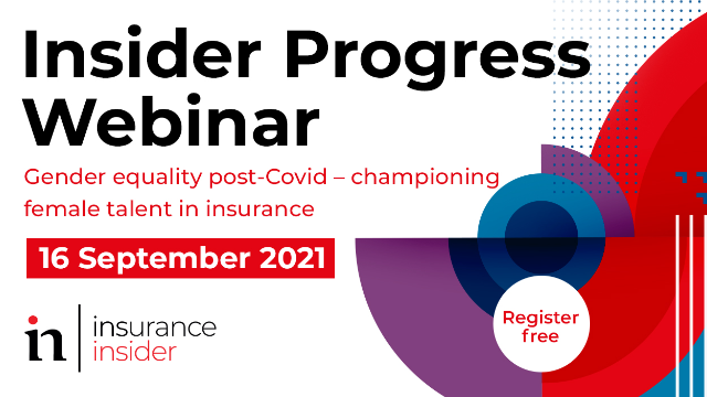 Webinar: Gender equality post-Covid - championing female talent in insurance