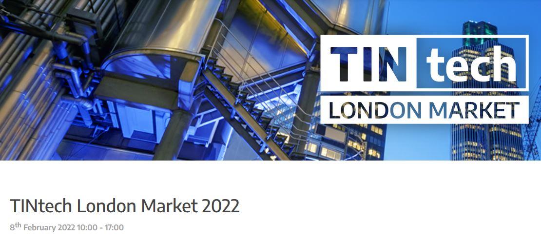 Virtual TINtech London Market 2022